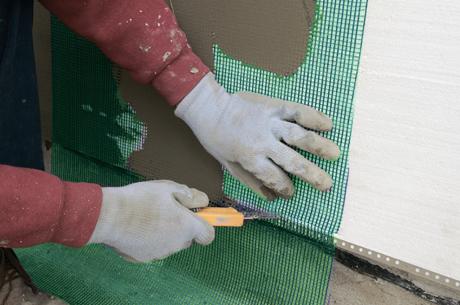 Армирование при выравнивании стен и потолков